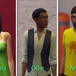 Sophia, Ollie a Andre