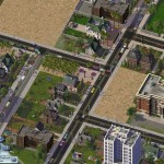 Obrázek ze hry Sim City 4.