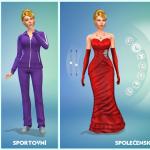 Varianty oblečení v Sims čtyřce