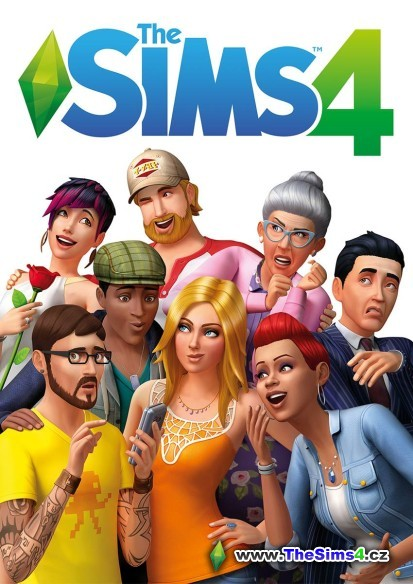 CD/DVD obal hry The Sims 4