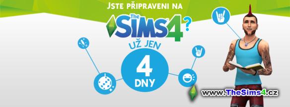 4 dny do vydání The Sims 4