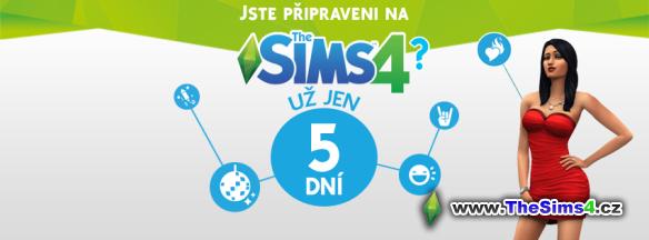 5 dní do vydání The Sims 4