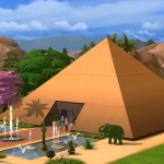 Takové běžné bydlení v pyramidě