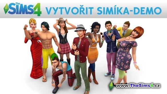 The Sims 4 Vytvořit Simíka demo