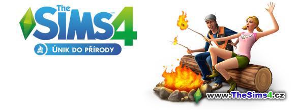 Logo herního balíčku únik do přírody