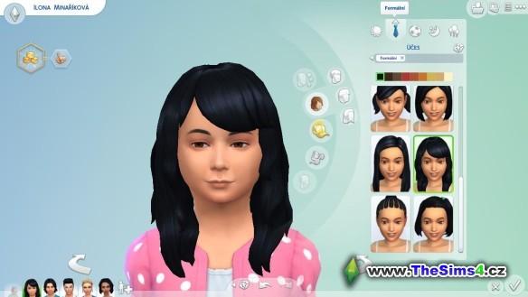 A tady máme Sabininu dceru Ilonku.