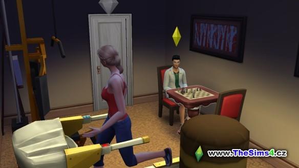 Sabina se Samuelem probírá, co udělat s Kryštofem. Nikdo neví, co s ním je a co ho trápí.