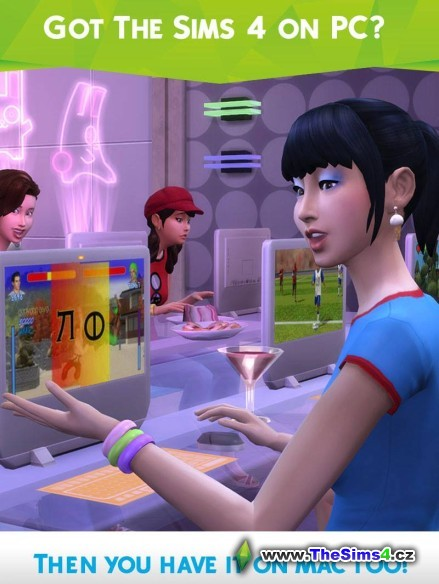 The Sims 4 pro Mac pro všechny