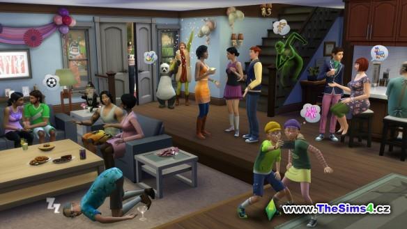 The Sims mají narozeniny, slavíme!