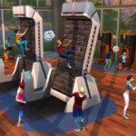 Kolekce Fitness - rotační lezecká stěna