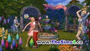 Láska v zahradě