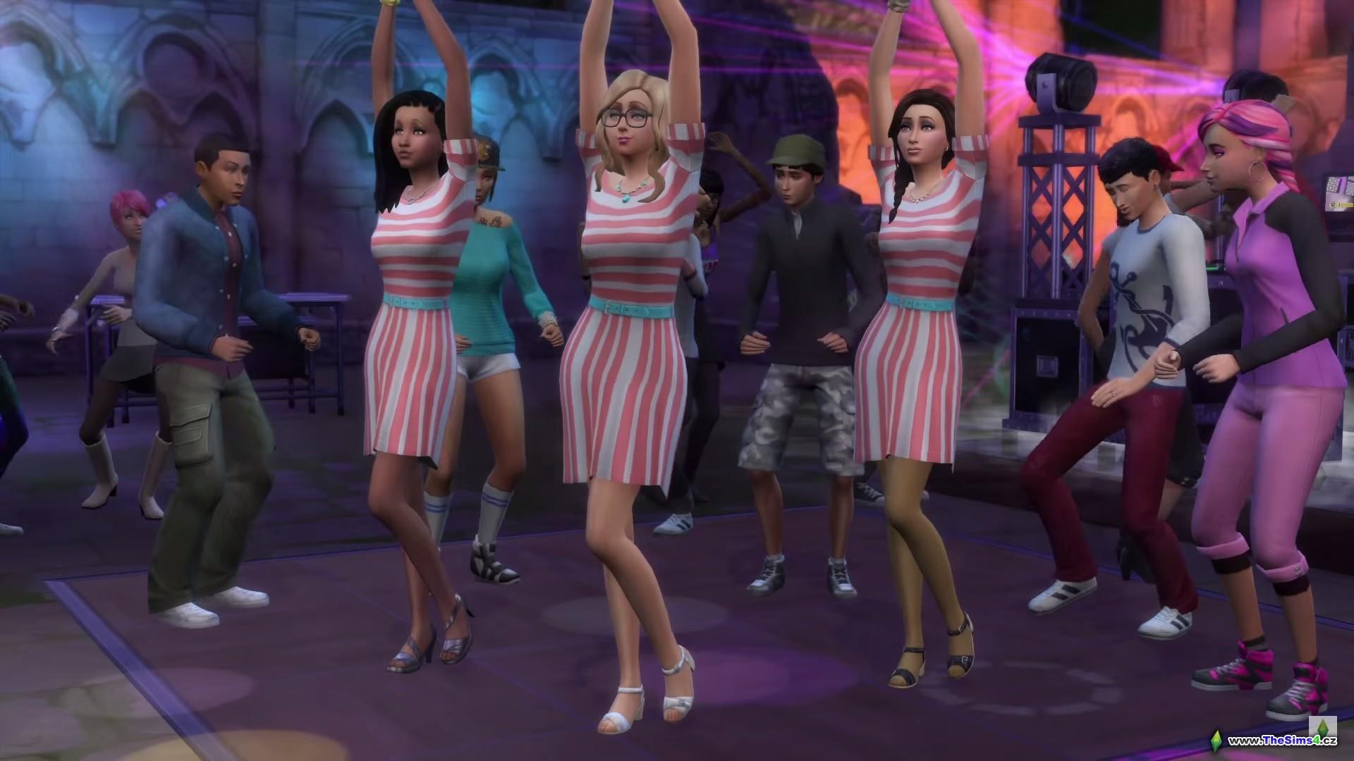 The Sims 4: Společná zábava na párty