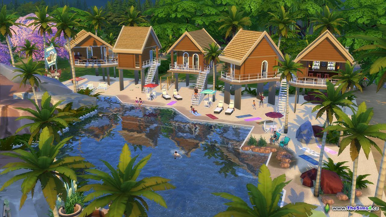 the sims 3 tropický ráj ke stažení