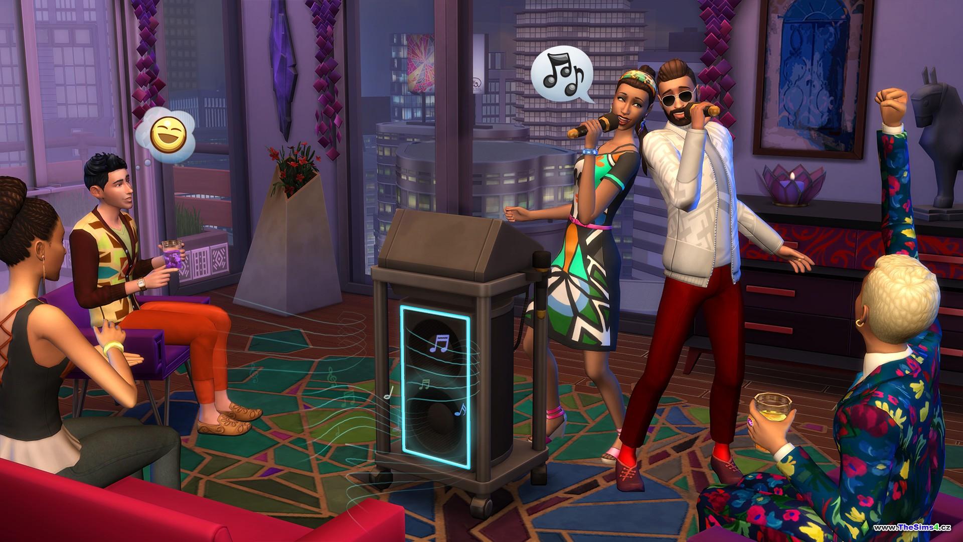 I v malém bytě se dá vykouzlit velká párty!