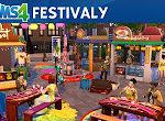 The Sims 4: Život ve městě - festivaly