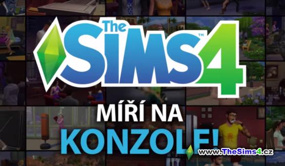 The Sims 4 miří na konzole